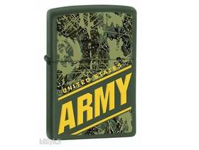 Zippo US Army Green Matte Lighter