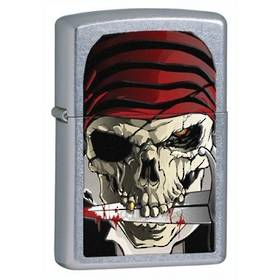 Zippo Pirate Col, Street Chrome Lighter discontinued