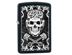 Zippo Skull Wrenches Lighter - discontinued