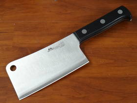 "Due Cigni  ""CLASSICA"" full tang Chinese Cleaver 15cm 500g"