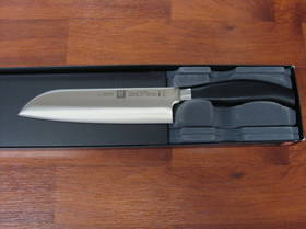 "Zwilling J.A Henckels Five Star 7"" Santoku Knife"