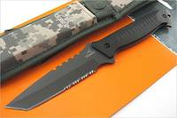 Gerber Warrant Tanto All Black Fixed Blade Knife