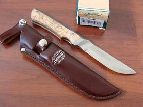 Marttiini Full Tang Curly Birch Knife
