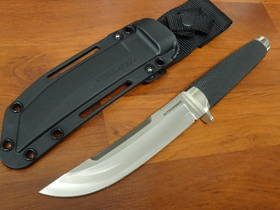Cold Steel Outdoorsman VG-10 San Mai Fixed Blade, Kray-Ex Handle, Secure-Ex Sheath