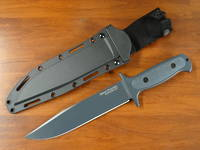 Cold Steel Drop Forged Survivalist Fixed Blade Knife W/ Secure-Ex Sheath