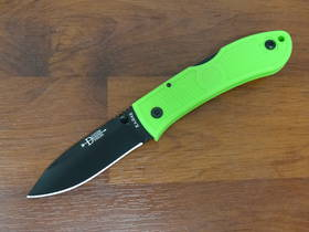 Ka-Bar Dozier Folding Hunter Folding Knife Zombie Green - 4062ZG