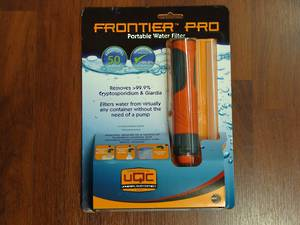 Frontier Pro Portable Water Filter