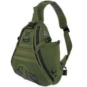 Maxpedition Monsoon S-Type Gearslinger (left) - OD Green