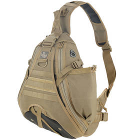 Maxpedition Monsoon S-Type Gearslinger (left) - Khaki