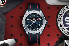 Luminox SXC PC STEEL GMT SPACE 5127 WATCH