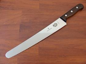 Victorinox  Pastry Knife Wavy 26cm Rosewood Wavy