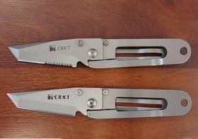 CRKT KISS - combo /fine edge  Folding Knife