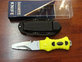 McNett Saturna Blunt Knife Neon Yellow