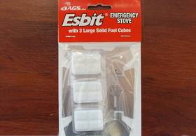 Esbit Emergency Stove and Fuel