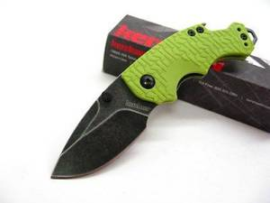Kershaw Shuffle Lime Green BlackWash Folding knife
