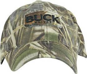 Buck Max-4 Advantage Camo Buck Logo Cap
