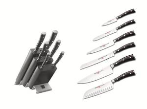 Wusthof Classic Ikon 7 Piece Knife Block Set - 9876