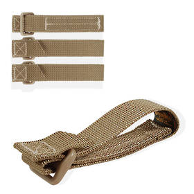"Maxpedition TacTie Strap 3"" (Pack of 4) - Khaki"