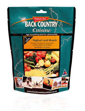Back Country Cuisine Yoghurt and Muesli 2 Serve