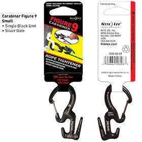 Nite Ize Figure 9 Carabiner Rope Tightener Small
