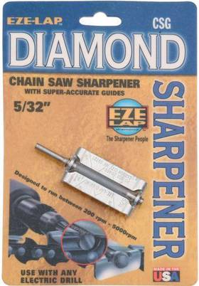 Eze-Lap Diamond Chain Saw Sharpener Size 5/32