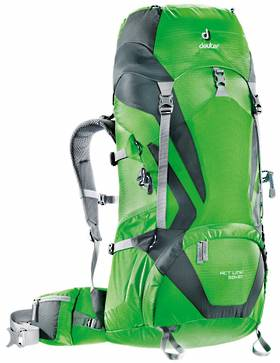 DEUTER ACT LITE 50+10, SPRING-GRANITE