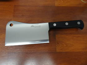 "Due Cigni  ""CLASSICA"" full tang Chinese Cleaver 16cm  700g"