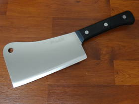"Due Cigni  ""CLASSICA"" full tang Chinese Cleaver 20cm 1250gr"