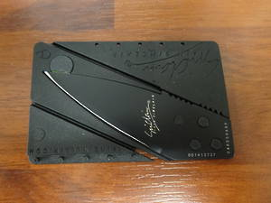 Cardsharp Credit Card Safety Knife Black