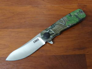 CRKT Homefront Hunter Flipper, Realtree XL Camo GRN Handles