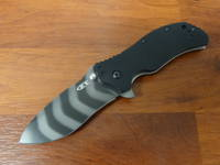 Zero Tolerance S30V A/O Folding Knife - Tiger Stripe Blade - ZT0350TS