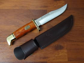 Buck 119BR Special Cocobolo Hunting knife 75th Anniversary