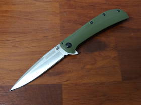 Kershaw Al Mar AM-3, Green G10 and Black Stainless Steel Handles