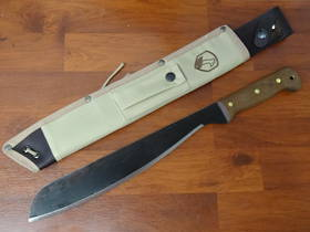 Condor Australian Army Machete Walnut Handles, Canvas Sheath