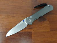 Chris Reeve Large Inkosi Insingo Folding Knife S35VN, Double Lugs, Titanium