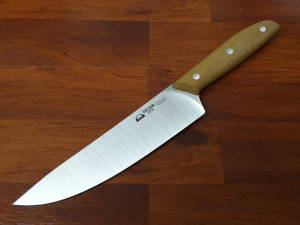 "Due Cigni - ""Serie 1896"" Chef Knife 20CM Walnut Handle"