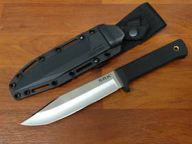 Cold Steel SRK Fixed San Mai Blade, Kraton Handle, Secure-Ex Sheath