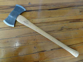 HELKO Traditional Line American Double Bit Felling axe With Sheath