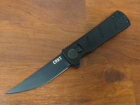 CRKT James Williams Goken Flipper Black G10 Handles -Field Strip Technology
