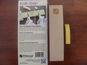 Flexcut Knife Strop W/ Compound