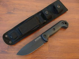 Ka-Bar Becker BK22 Companion Knife With Black Cordura® Nylon