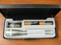 MAGLITE Mini PRO + LED Flashlight 245 Lumens - Silver