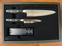 Tsuchimon Damascus VG-10 3 Pce Set - 3 Layers