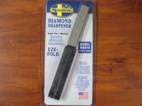 Double Sided Diamond Sharpener by Eze Lap