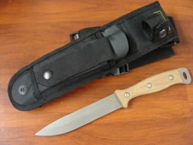 Knives of Alaska Extreme Defense Survival D2 G-10 Knife w/ Nylon Sheath - 843FG
