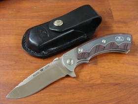 BUCK Open Season Folding Skinner Knife - 547RWS