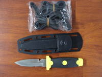 Kershaw Sea Hunter Diver's Knife/ Diving knife, Kydex Sheath