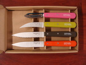 Opinel Essentials 4 Pce Knife Set Fifties