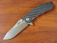 Zero Tolerance Hinderer Slicer Folding Knife Carbon Fiber/Titanium Handles