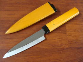 Due Cigni Japanese Kengata Kitchen Knife 95mm